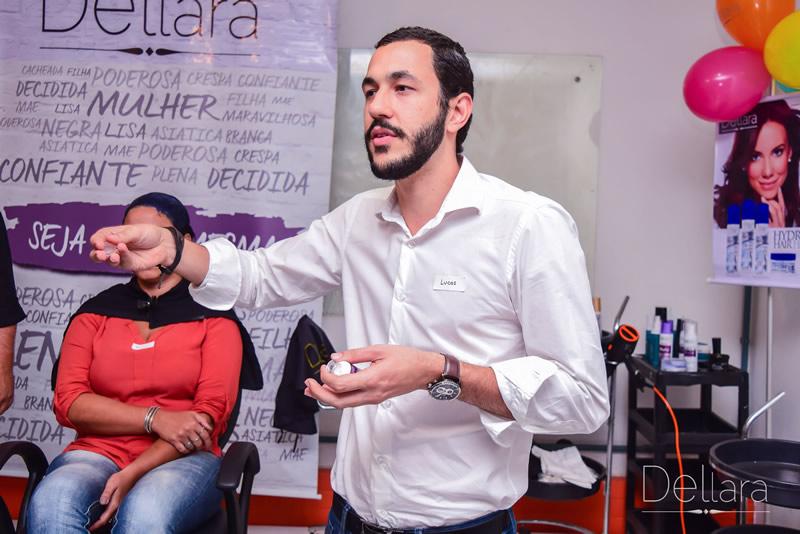 Lucas Gonçalves explicou a necessidade de matérias primas de qualidade para a criação de produtos com alta performance